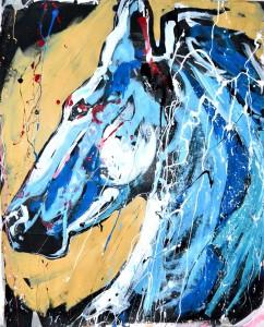 01 2014  blue horse